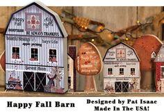 KP Creek Gifts - Happy Fall Chunky Barn