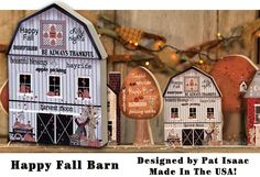 KP Creek Gifts - Happy Fall Chunky Barn