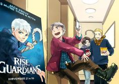 I'm not the only one who thought of Prussia when I saw Rise of the Gurdians xD << Ikr!!