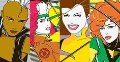 storm x men 90's comics - Buscar con Google