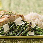 Grilled Asparagus and Arugula Salad with Lemon-Truffle Dressing