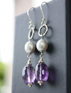 purple and pearls. love