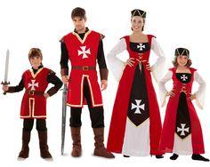 Familia de Marqueses de Malta #disfraces #carnaval #disfracesparagrupos