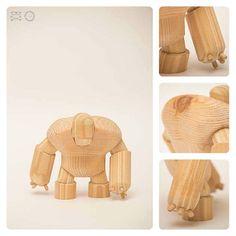 diseño artesanal de juguetes de madera