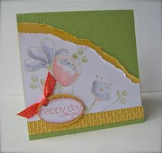 Ann Craig - Stampin' Up! Demonstrator: Awash With Flowers - Stampin Up Stamp A Stack
