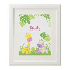 Birthday Cross Stitch pattern baby от AnimalsCrossStitch на Etsy