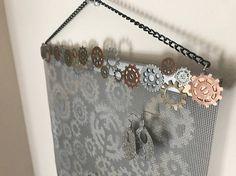 Steampunk Wall Hanging Jewelry Organizer