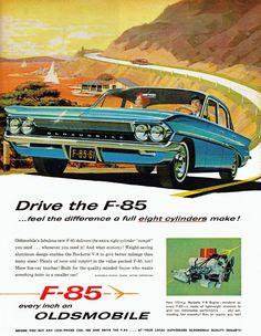 Oldsmobile F-85, 1961