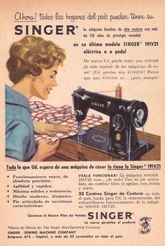 SINGER, 1961.