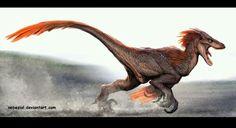Velociraptor Art