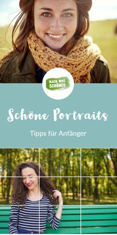 Mit unseren Tipps für Portraitfotografie wirst Du lernen, perfekte Portraits zu fotografieren. Unsere Anfänger-Tipps zu Brennweite, Belichtung und Schärfe geben Dir den ersten Einblick in die Welt der Portraitfotografie. Probiere es einfach mal aus! #portraits #portraitfotografie #tippsundtricks #fotografiespickzettel #fotografieportrait #fotografiefüranfänger #fotografieideen #fotografierenlernen #bessereportraits #fotografieren Fotografie Portraits, Tricks, Photography, Inspiration, Tutorials, Federal, Photo Tips, Image Editing, Portrait Photography Poses