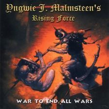 YNGWIE J. MALMSTEEN'S RISING FORCE - War To End All Wars CD JAPAN PCCY-01483 OBI