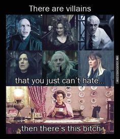 Villains you just can't hate | #HarryPotter