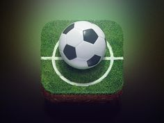 Football icon by Alexandr Nohrin