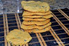 Bolachinhas com pepitas de chocolate (chocolate chip cookies)