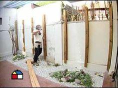 ¿Cómo construir un deck de muro? - YouTube