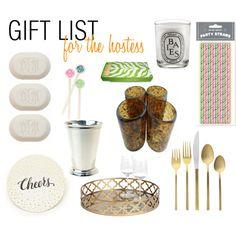 Gift List 2013: For the Hostess #giftideas #holidaygiftlist #hostessgifts