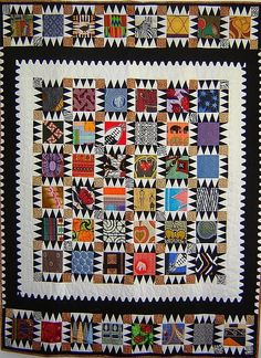 Quilts :: African fabrics and aesthetic... do I already have enough prints to mix up?