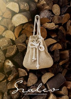 Sweet little backpack with naval rope.  Spring-summer 2016. #backpack Szaleo.pl | Be new fashioned & accessorized!
