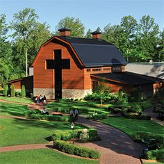 Billy Graham Library, Charlotte NC...such a beautiful place.
