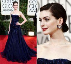 Anne Hathaway veste Armani Privé