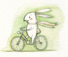 Mary Lundquist Illustration: bunny stories