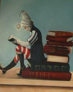 The Book Lover by Karen Alibone.