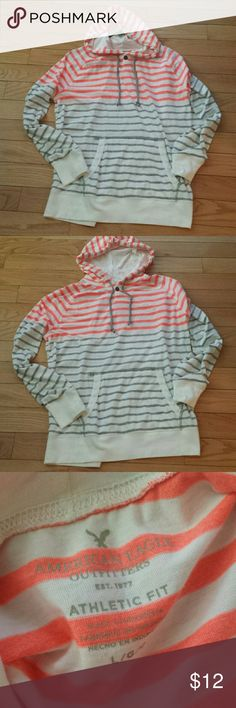 AMERICAN Eagle long sleeve hoodie sweatshirt  L EXCELLENT  CONDITION American Eagle  Sweaters