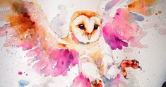Incredible watercolor portraits of animals, by Sillier Than Sally