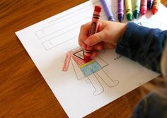 Gwenny Penny: Printable: Color Your Own Halloween Paper Dolls