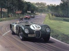 The 1953 Jaguar C-Type that an Englishman WON the Le Mans in.