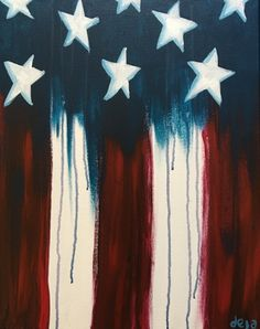 Star Spangled II at Village Lanes - Paint Nite Events