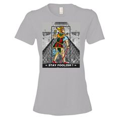 T-shirt donna 100% Cotone serie -The Tarot-