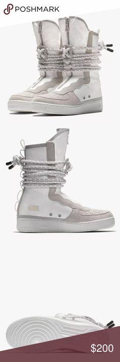 SF Air Force 1 Mid OBJ sneakers