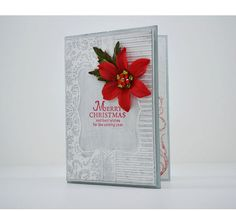 Beautiful Christmas Card with special embossed technique, stamped, flower embellishment and quality Card Stock. Listing is for 1 Card and matching envelope. Beautiful Christmas Cards, Selling On Pinterest, Emboss, Embellishments, Card Stock, Envelope, Greeting Cards, Stamp, Etsy Shop