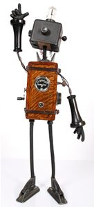 Shut up.  Robots and rockets and assemblage art?  Be still my heart.