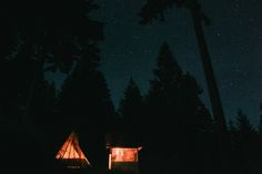 """Photo by Bryan Dale  When you're in the Pacific Northwest, everybody goes camping. But sometimes  you want a bit of a break from the """"roughing it"""" part, and that's why we  are such fans of glamping. We stayed in this awesome Airbnb along the  Columbia River Gorge that came complete with modern fireplace, an outdoor  shower, and an amazing teepee.  There's something so amazing about going to sleep in a comfortable queen  size bed, but still breathing in the fresh air of the outdoors. This…"""