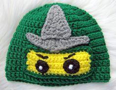 Lego Ninjago Hat by NorthEastBaby on Etsy