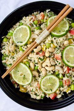 Thai Rice Salad with Coconut Curry Dressing recipe