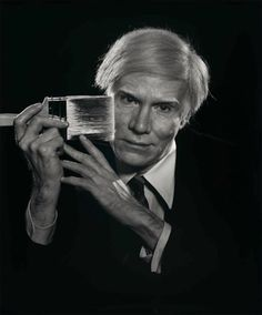 Andy Warhol, 1979 by Yousuf Karsh