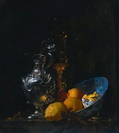 Willem Kalf  Still Life with Silver Jug  1655-57