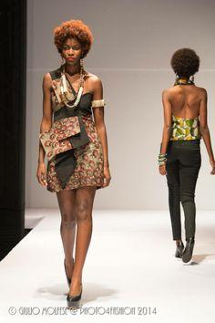 Kampala Fashion Week 2014 / Photography GIULIO MOLFESE jewelry BALUNGI garments DEFINITION AFRICA