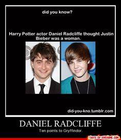 10 points to Gryffindor! o-o