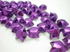 100 Mystical Purple Origami Lucky Stars  Custom by origamipalace, $3.50