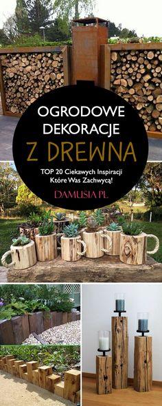 Firewood, Crafts, Gardening, Garten, Crafting, Diy Crafts, Lawn And Garden, Craft, Arts And Crafts