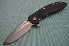 "Rick Hinderer 3.5"" XM-18 Hand Ground Gen 2 Flipper Folding Knife"