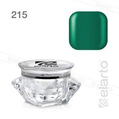 Żel kolorowy Extreme Color Gel nr 215 - zielony ciemny 5g #elarto #żel #kolorowy #zielony #ciemny