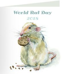 Beryl, thank you for taking action on world rat day. 'I've often said that my rats have taught me much more than I've taught them.' ~ B. F. Skinner