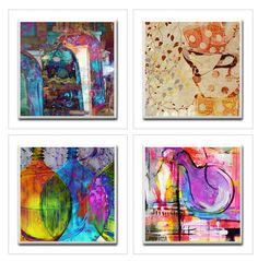 Ceramic Tile Coaster Set of 4 - Abundance of Mercy. Great for a gift to family, friends, or for yourself! These unique handmade Ceramic Tile Coasters will decorate your home or office. They can be use by the pool, or at your backyard gathering.