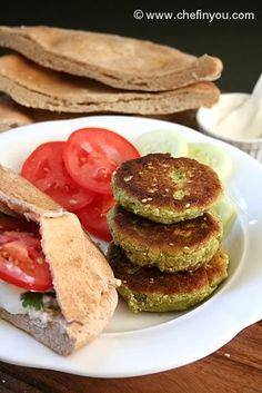 Zucchini Falafels Recipe | Falafels Recipe with Zucchini